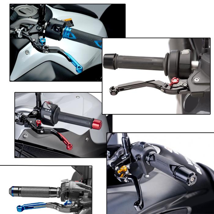 Kalite debriyaj fren kolu motosiklet yedek parça için cnc Honda VF750S SABER, VFR750, VFR800
