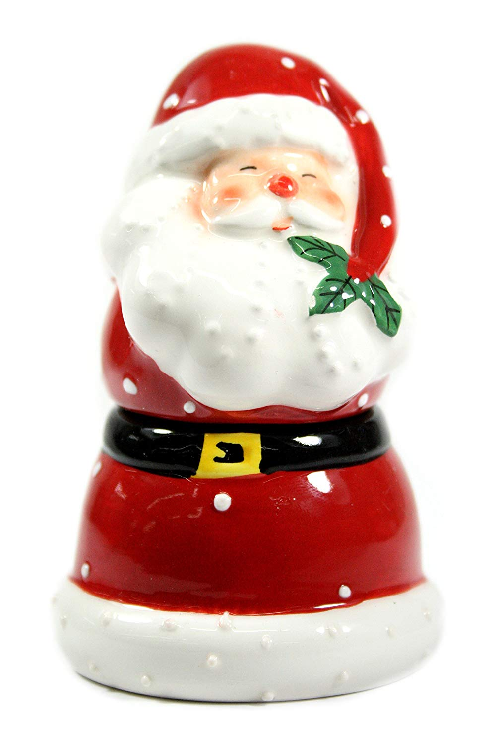 "Santa Claus Salt and Pepper Shaker 4.5"" Tall Gift"