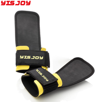 Custom made waterproof gym training weight lifting gloves barbell lifting fitness workout grip straps