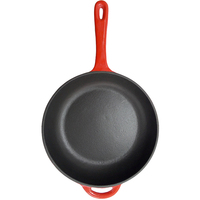 10 Inch Color Enamel Cast Iron Skillet