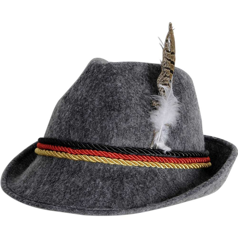 Mens germany beer oktoberfest hat party snake wool felt hat wholesale QHAT-5353