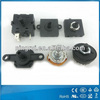 1 pole 8 position manual changeover rotary switch 6A 250V