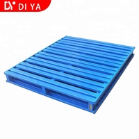 DY221 Non - standard customization Heavy Duty Durable Storage Steel Metal Stackable Pallet for Warehouse