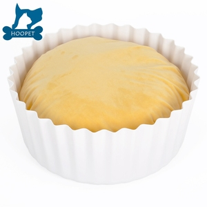 Unique Eco-Friendly Plastic Egg Tart Cat Pet Pillow Bed