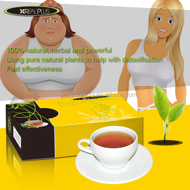 Leading Tea manufacturer online retail REAL PLUS slimming detox tea