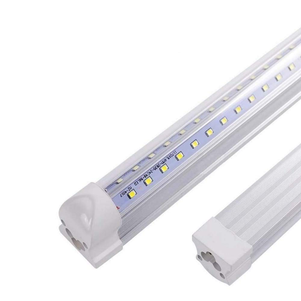 20pack-0.9m 3ft T8 V Shape LED integrated Tube 30w smd2835 180leds Integrated 6500k Clear lens with 2pack of 1m connector with US switch free