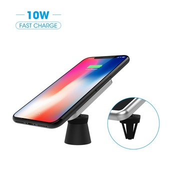 wireless car charger ,wireless car qi charger magnetic holder,10W Wireless Charging Magnetic Car Vent Mount