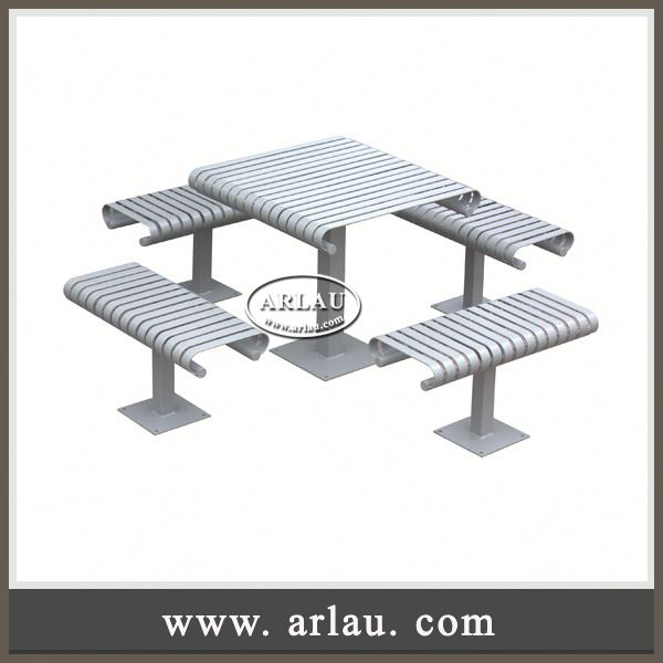 Arlau Outdoor Tables & Outdoor Tea Table & Bbq Table Outdoor,Outdoor Metal Chess Table,Bistro Table And Stools