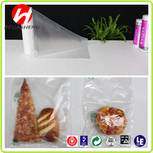 Premium Flat Poly bag for food industrial usage, hot sales in United States with Virgin HDPE plastic