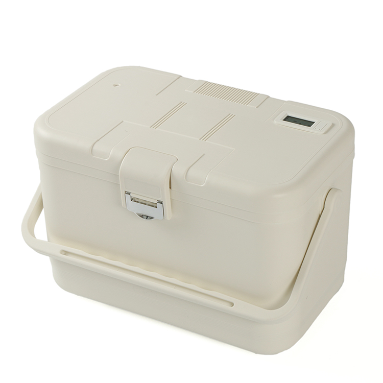 Mini Cooler For Vaccines Box Transport Blood And Vaccine Carrier Bin Chilly