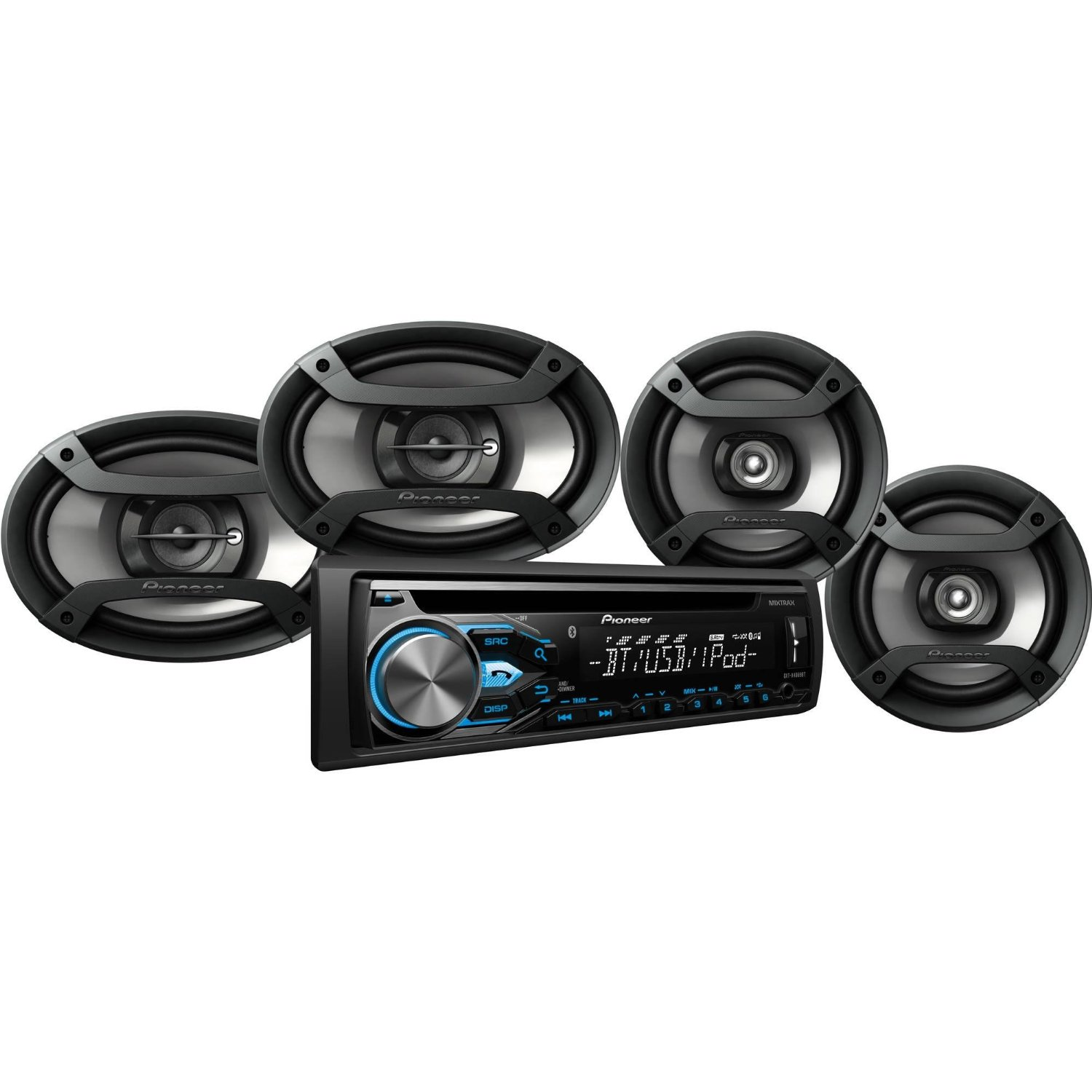 Get Quotations · Pioneer Car Audio System Package DXT-X4869BT