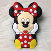 3D Minnie Mouse Phone Case For Apple iphone 4 4S Cute Silicone Phone case