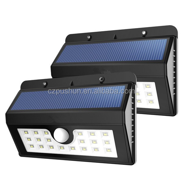 Bright Solar Power Outdoor LED Light No Tools Required Peel and Stick Motion Activated