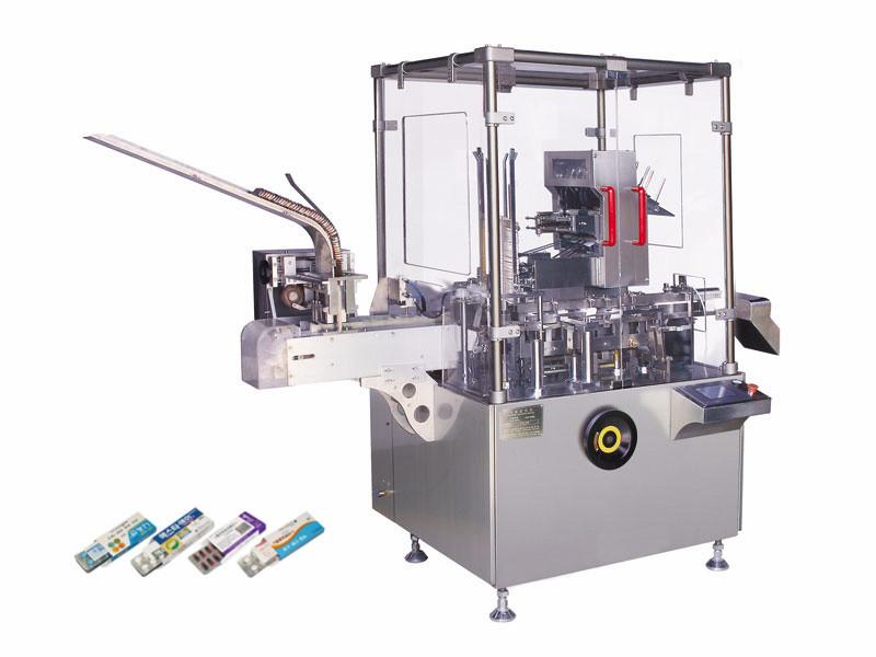 Zhonghuan verticale automatische boksen machine cartoning packer