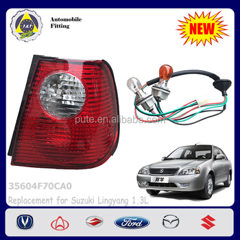 Auto Parts 35604F70CA0 RH Tail Lamp for Suzuki Lingyang, View Tail ...