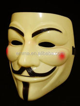 v for <span class=keywords><strong>vendetta</strong></span>, anoniem <span class=keywords><strong>masker</strong></span>, Guy Fawkes, ongehoorzaam, one size, pvc h153