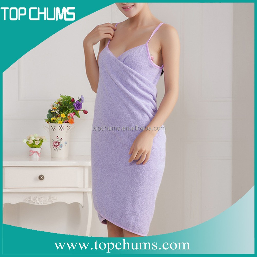 wearble Magic Lady Microfiber bath towel dress for woemn