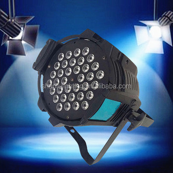Baisun Brand Professional Led Stage Lighting 3wx36pcs Rgb Par Light Party Disco Can Lights 36x3w