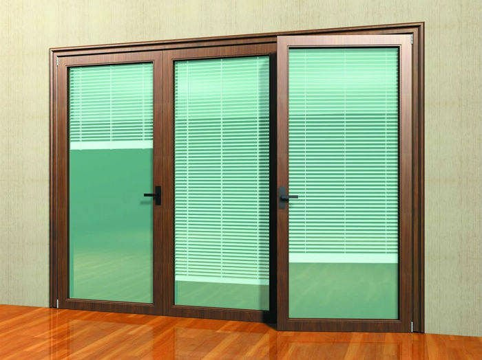 inside with series sliding and windows blinds doors door atrium patio designs within