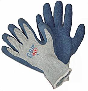 Workforce Industrial Grip Fit Blue Latex, Heavy Duty, Size Medium - 12 Per Package