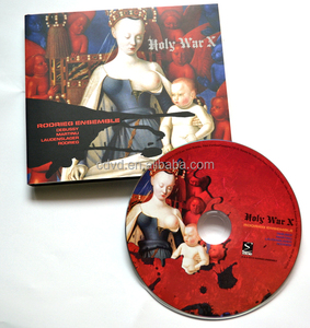 Music CDs by digipak packaging