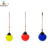 Best Quality children outdoor playground equipment plastic Spherical swing ring