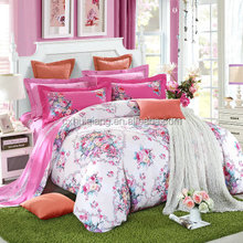 Changxing manufacturer bedding set /bed sheet/duvet cover/ 100% microfiber fabric meter price
