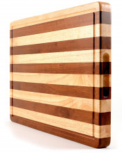 프리미엄 다 Most Beautiful 두 Tones 마 Block 및 Cutting Board