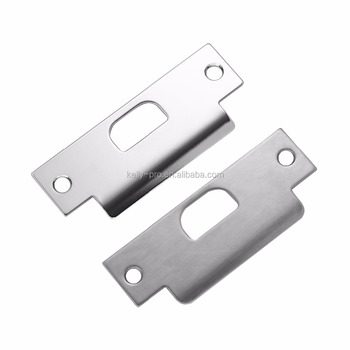 Commercial Strike Large Lip Security Door Latch Strike Plate