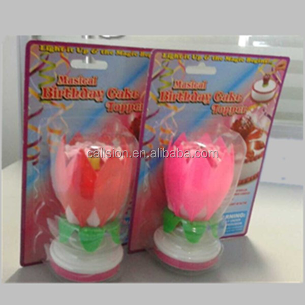 OEM packing happy birthday candle fountain fireworks