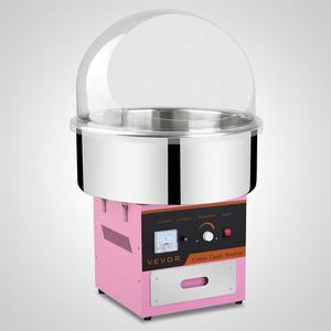 Free shipping for Floss Maker Commercial Electric Cotton Candy Machine with Bubble Cover