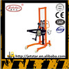 Made in china Hand Hydraulic oil drum lifting stacker