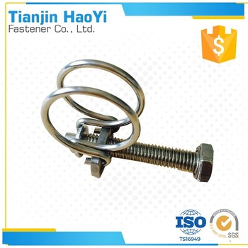 Small Wire Dimeter Metal Clamp 2 Wire Tube Clamp - Buy Metaltube ...