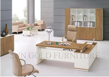Secretary Office Furniture New Wooden Desk Sz Od345 Table Design Product
