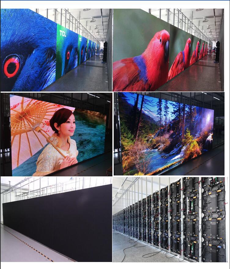 Profesyonel üretici açık konser sahnesi ekran panelleri led video duvarları mesaj panosu