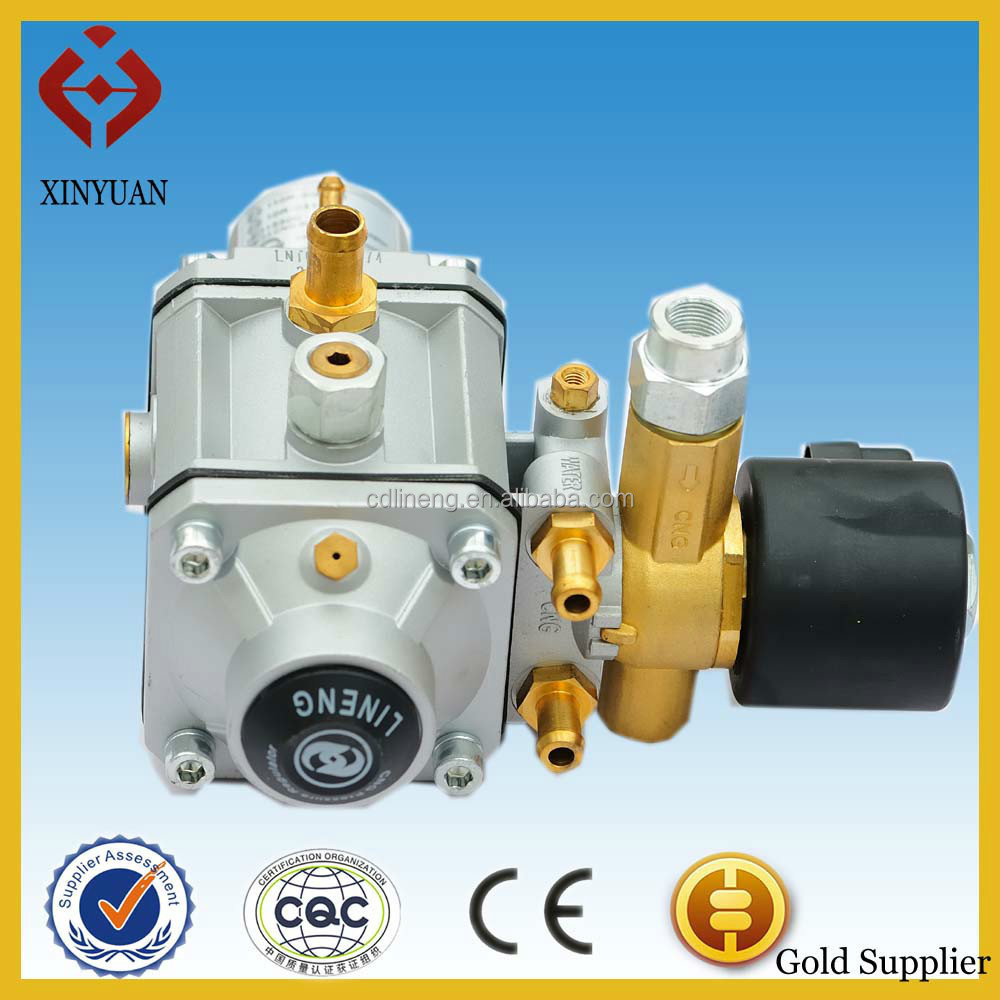 cng car reducer/regulator for single point injection system