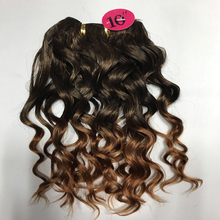 Hot Sell xpression synthetic hair braids ombre x-pression ultra braid Spanish wave T1B30