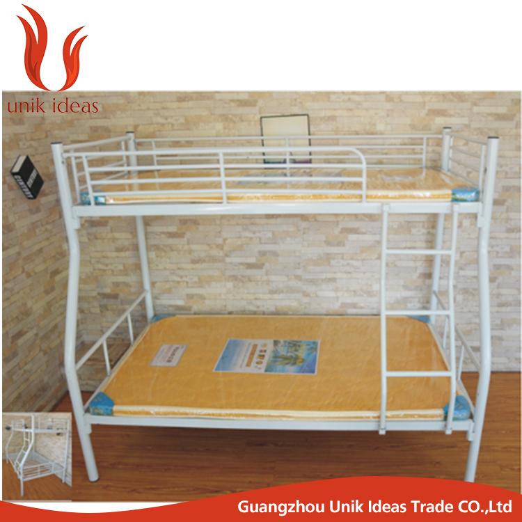 Di alta qualit di scuola assembly mobili letto a castello di metallo a buon mercato metal letto - Letto castello metallo ...