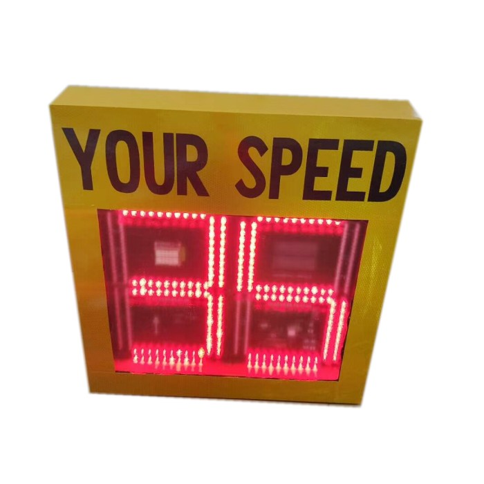 cheap and best selling solar speed limit sign solar road speed sign radar speed sign