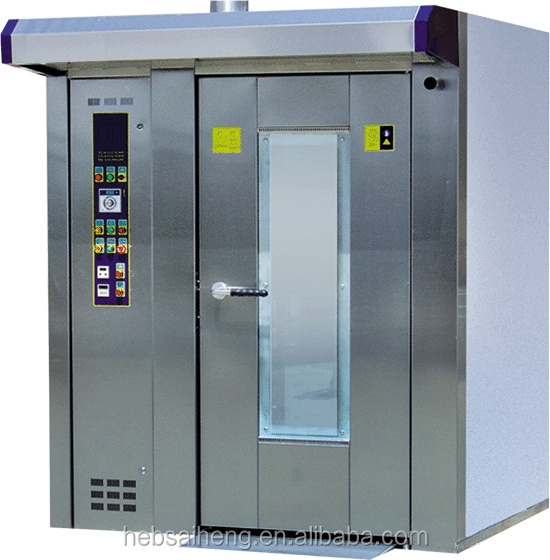 China CE/ISO High Quality Bread Baking Rotary Oven Equipment