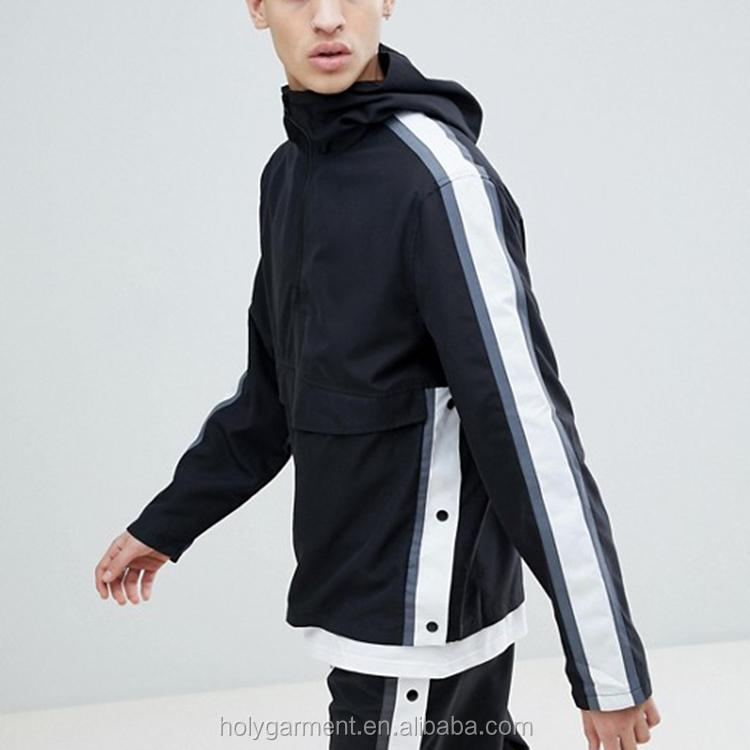 Funil pescoço patches bordados Contraste detalhe tubulação soft-touch faixa de veludo jaqueta