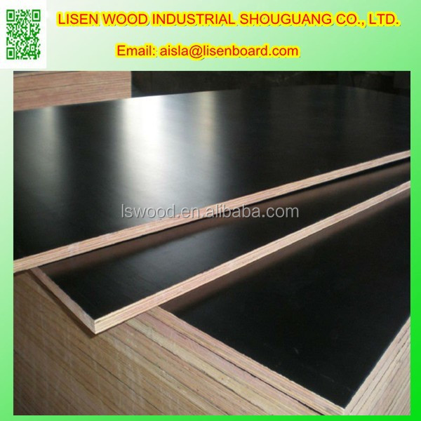 3ply Shuttering Panel, Marine Grade Poplar Core Wood Panel Formwork Plywood
