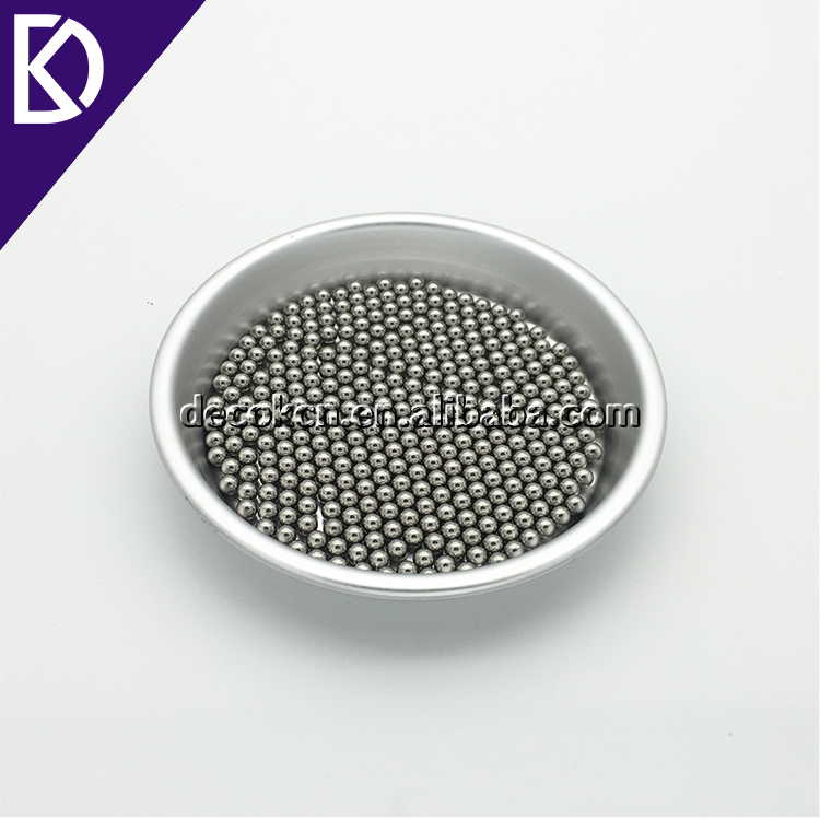 "Solid 304 stainless steel material metal bead 1/4"" 6.35mm 6mm braille ball"