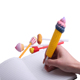 2019 Factory Wholesale Kawaii Squishy Pencil Topper Cover Scented Food Squishy Pen