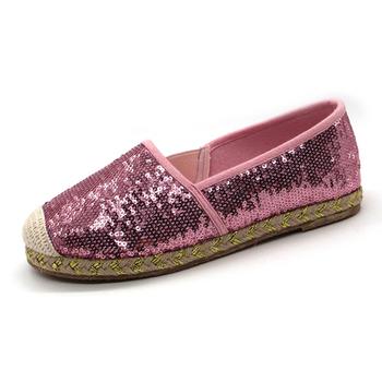 cbf6e83ae08 Wholesale cheap custom women glitter platform jute sole espadrilles in china