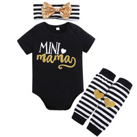 INS hot selling ropa de bebe cotton wholesale baby set Guangzhou baby clothing sets