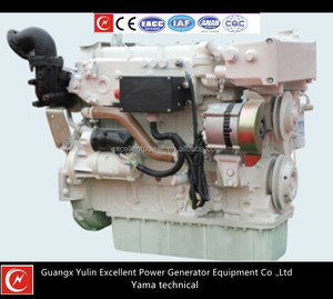 86-120HP 4cylinders 4stroke water-cooled inboard marine engine 63-85KW YC4F