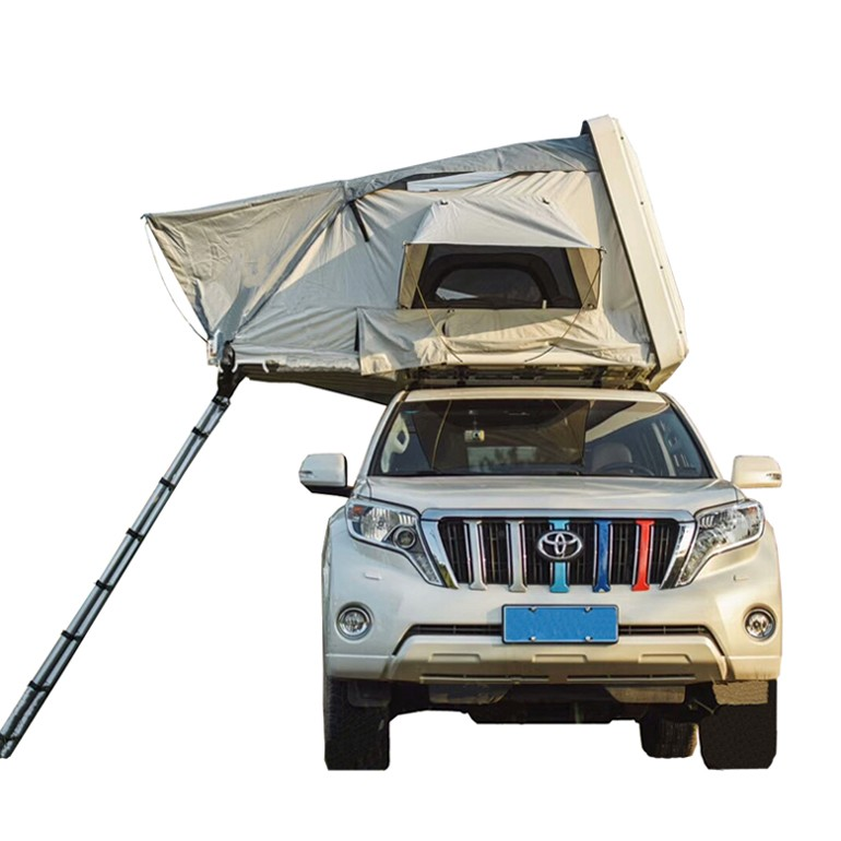 Outdoor 4 Person Hard Shell Car Roof Top Tent For Sale