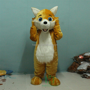Animal Wolf Fox Mascot Costume Toy Story OEM service Dog Costume For Adult