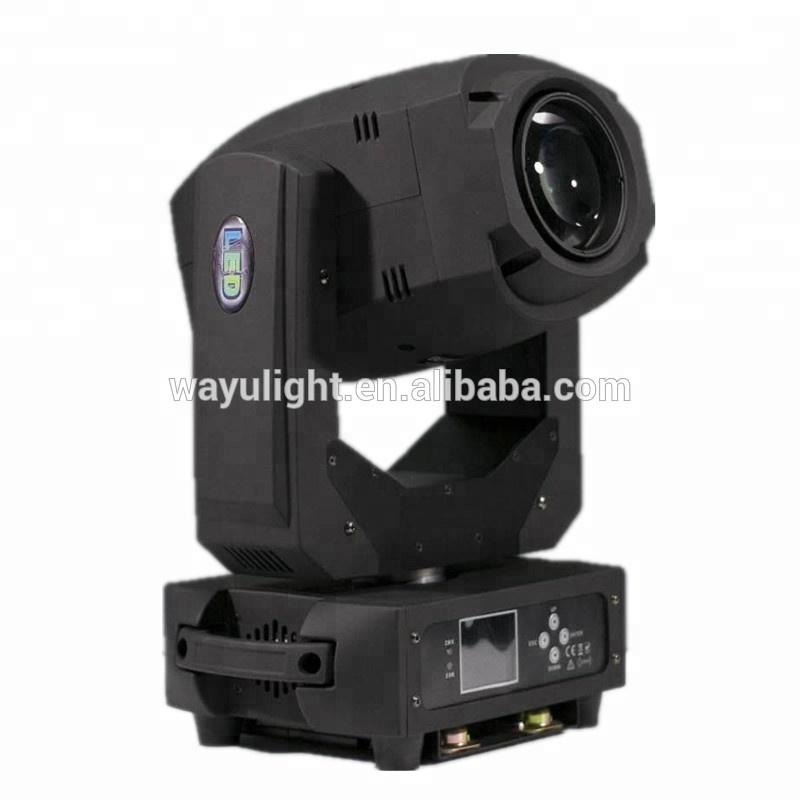 New model 200W BEAM Spot LED Moving Head Light 3-prism DJ Nightclub gobo Stage Lighting